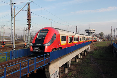 SKM, 2 160 013-0 (PL-SKMWA 94 51 2160 013-0 or 2TWE 003a) at Warsaw Wschodnia on 2nd November 2012