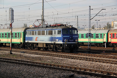 1) EP08 010 at Warsaw Wschodnia on 2nd November 2012