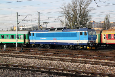 CD, 163 029 (CZ CD 91 54 7163 029-2) at Warsaw Wschodnia on 2nd November 2012