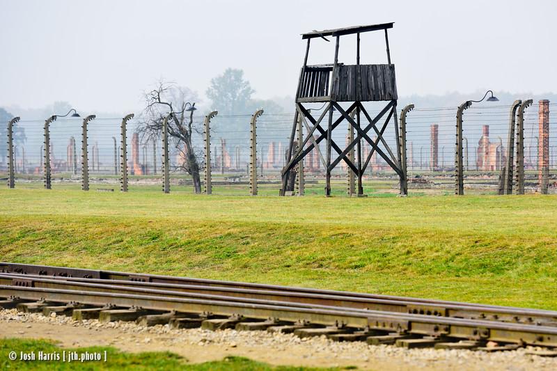 Auschwitz II-Birkenau, October 2018.