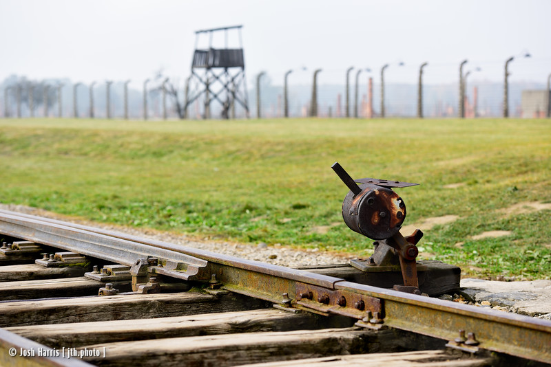 Auschwitz II-Birkenau, Poland, October 2018.