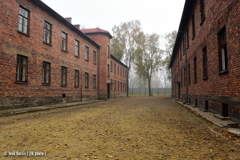 Blocks 3 & 4, Auschwitz,  Poland, October 2018.