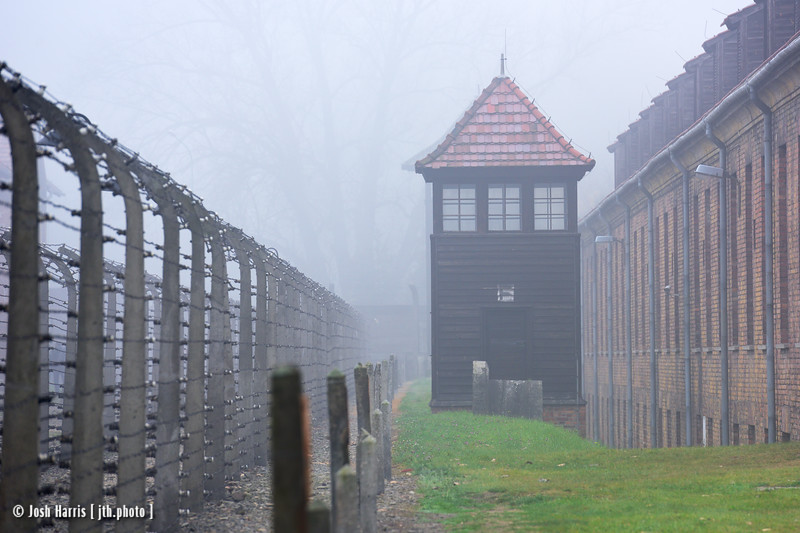 Auschwitz,  Poland, October 2018.