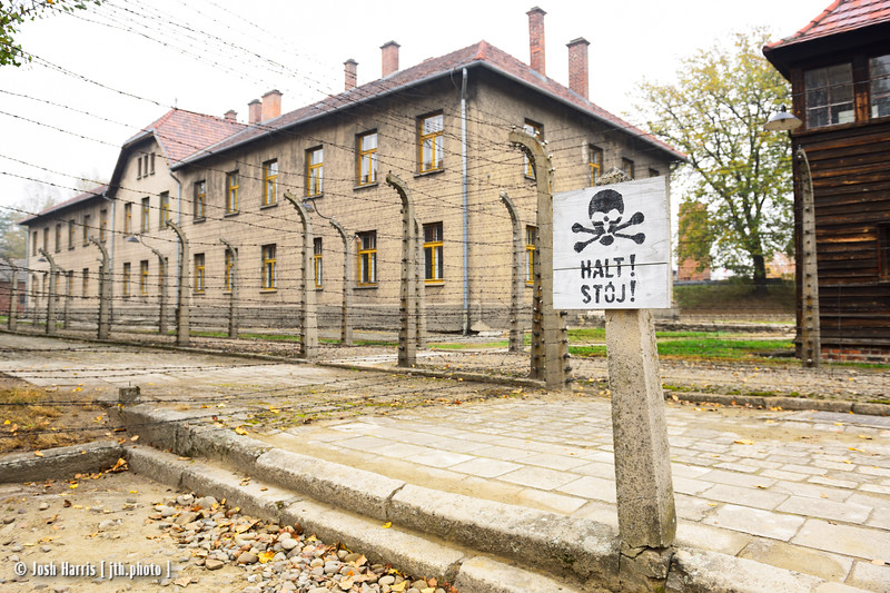 SS Hospital, Auschwitz, Poland, October 2018.