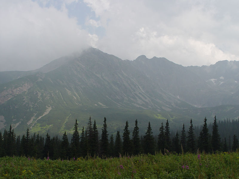 Tatra Mountains in southern Poland.   (Sony F717)