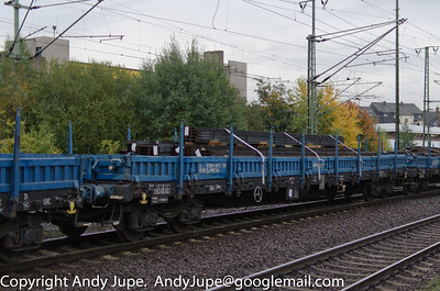 R Coded (51) (Ordinary flat wagon with bogies)