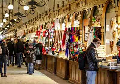 Sukiennice Market during Easter, Cracow - 2013