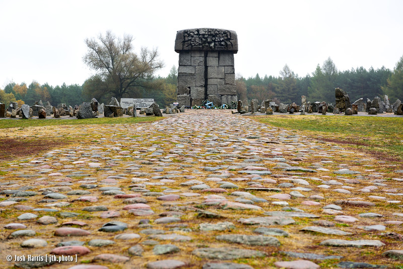 "Himmelstraße (Road to Heaven), ""The Tube,"" Treblinka Extermination Camp, Poland, October 2018."