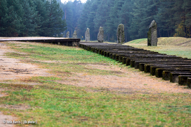 Treblinka Extermination Camp, Poland, October 2018.