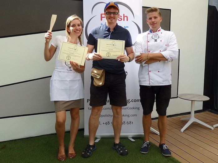 Cooking certificate for making Polish food