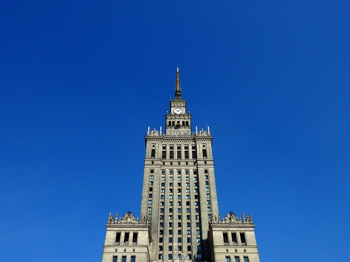 Touring Warsaw's Palace of Culture and Science