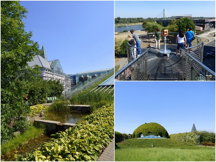 The Gardens on the roof of Warsaw University Library