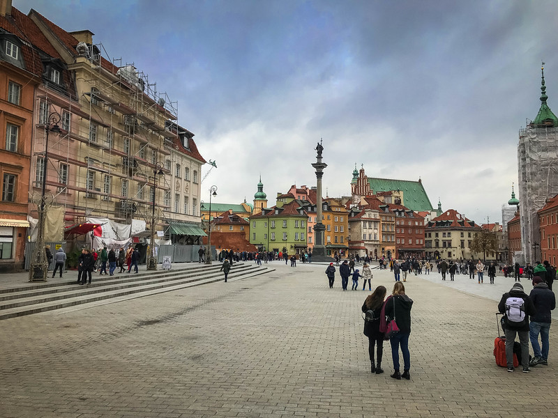 old town square warsaw