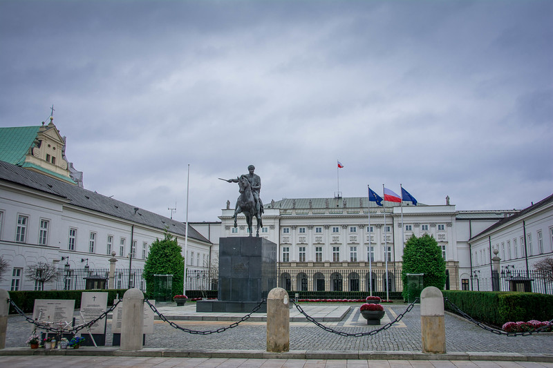 presidential palace warsaw