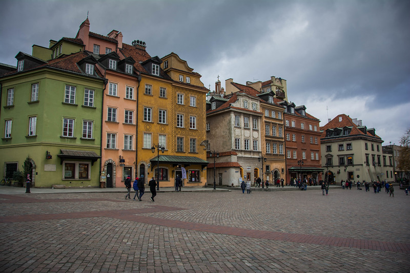 old town market place warsaw