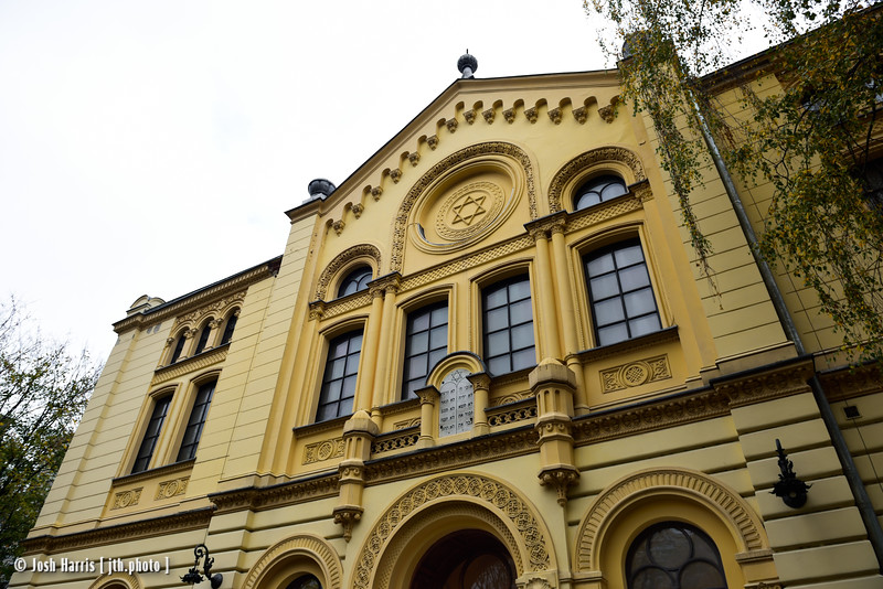 Nożyk Synagogue, Warsaw, Poland, October 2018.