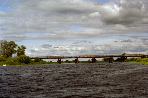 Bronowo Bridge at Bronowo.