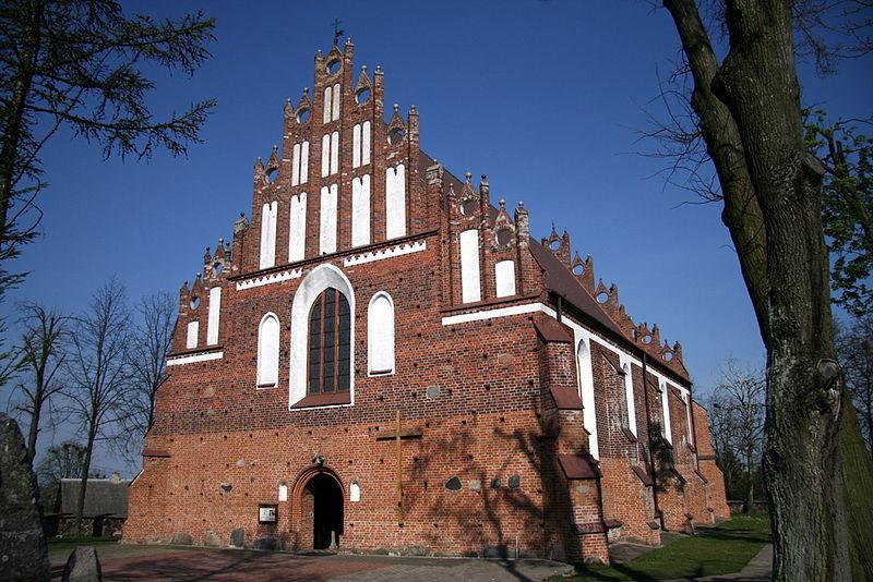 Wizna Church at Wizna.