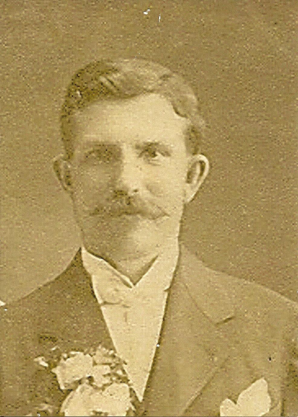 "May 8, 1908 Wladyslaw ""Walter"" Szymanski (b. June 14, 1878). (courtesy Lottie Keir Moore)"