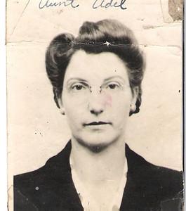 Adela (Szymanski) Baykowski Born April 28, 1909 in St. Louis, Missouri. Died August 31, 1999. Married Paul Baykowski, February 14, 1930. (courtesy Lottie Keir Moore)