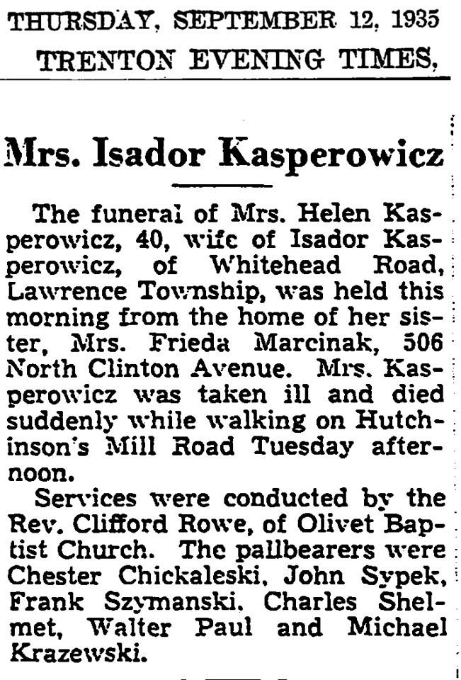 1935 sep 12 frank szymanski at funeral