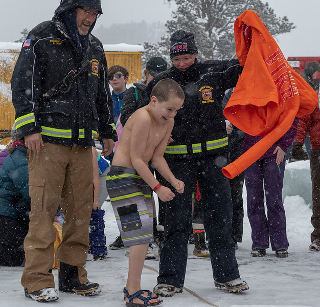 Polar Bear Plunge at Trout Haven Resorts