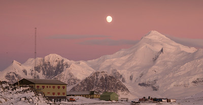 Rothera Research Station at Midwinter