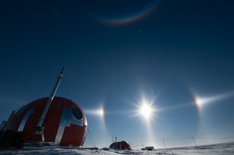 Sky Blu, Antarctica