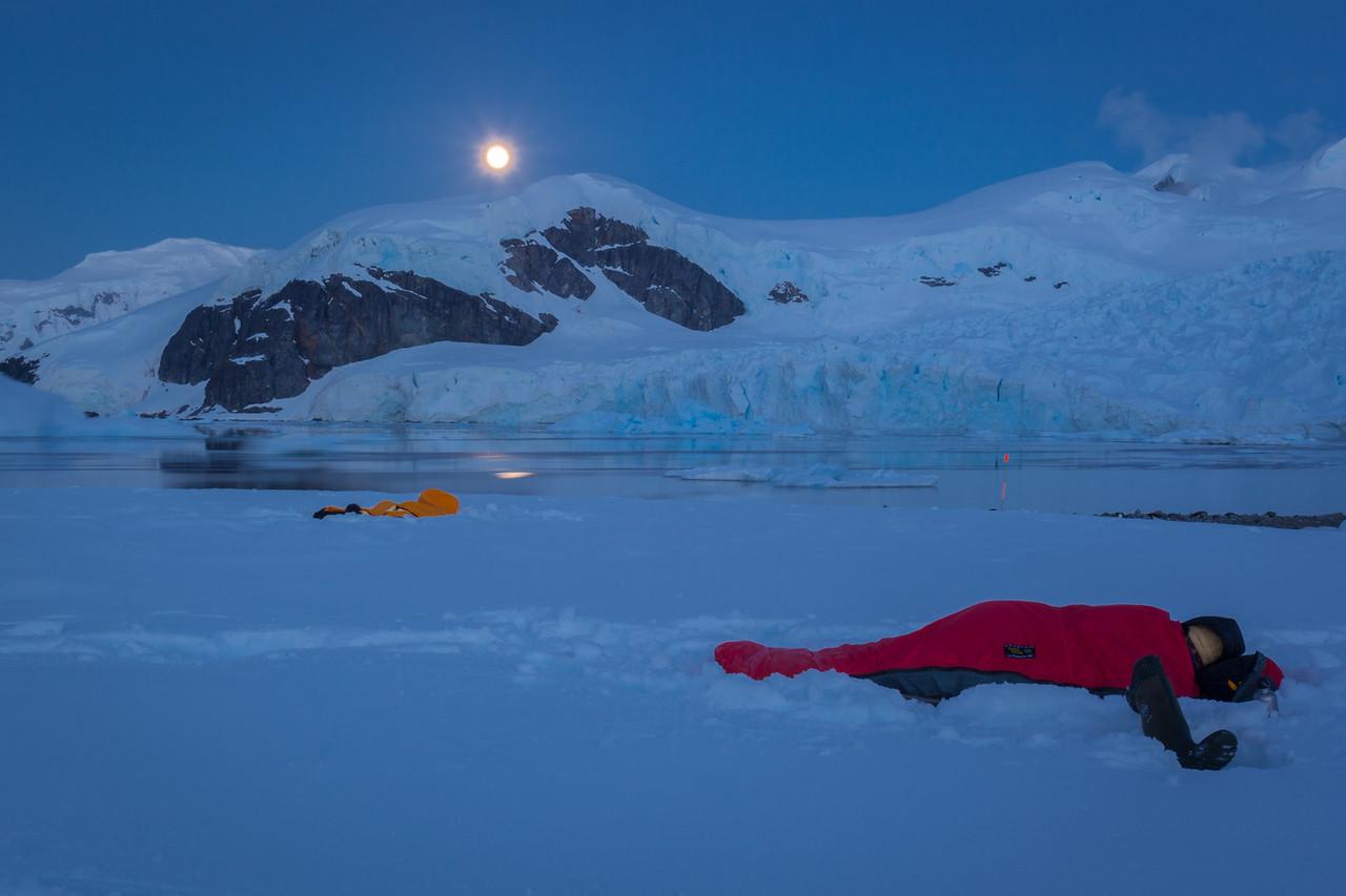 camping antarctica