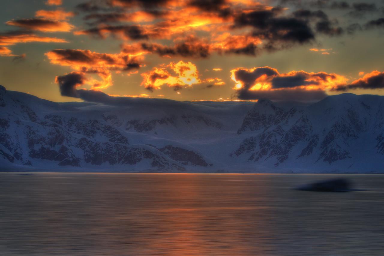 sunrise antarctica