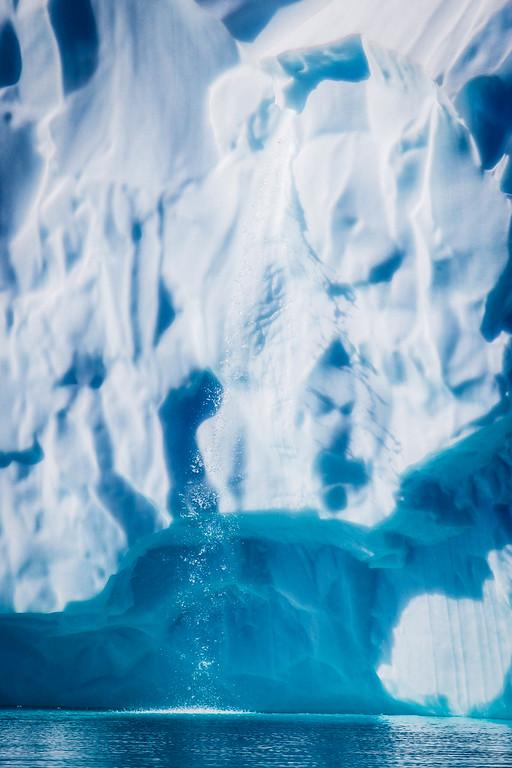 An Iceberg Waterfall