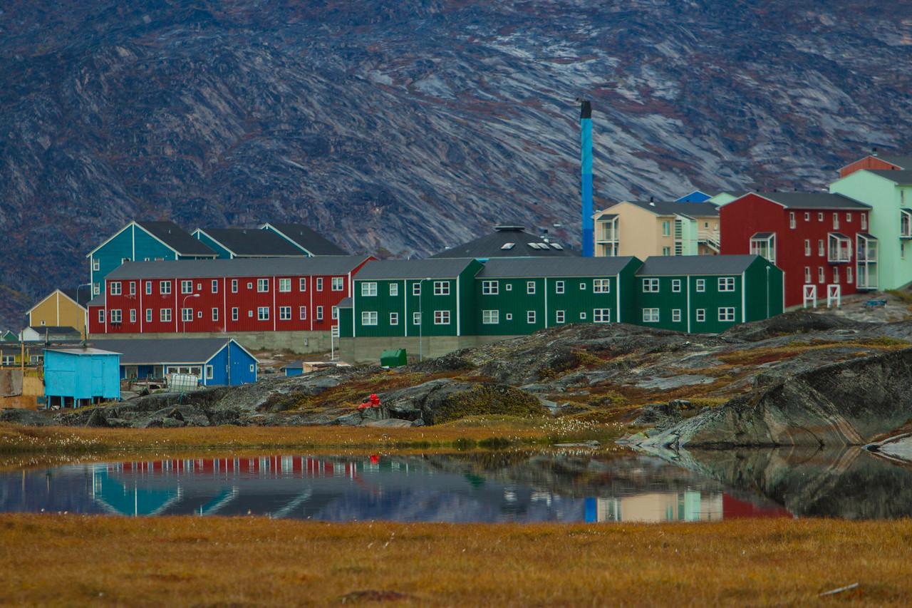 The Colourful town of Ilulissat.
