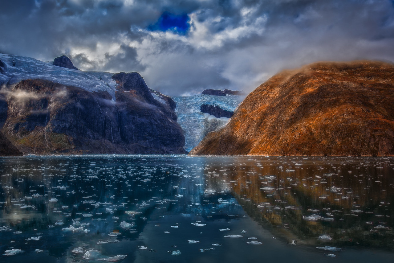The shifting Glaciers of Greenland
