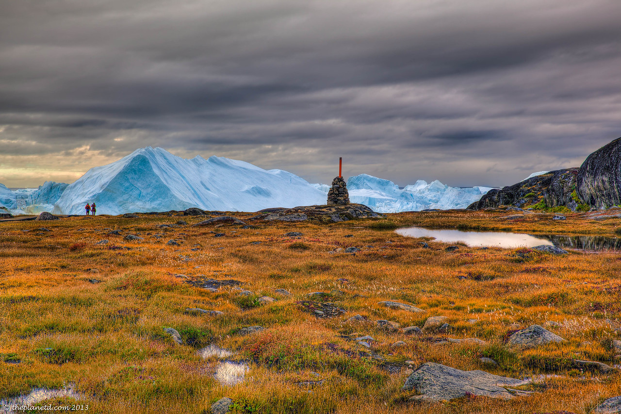 Beauty at every turn in the Unesco World Heritage Sit of Ilulissat Fjord