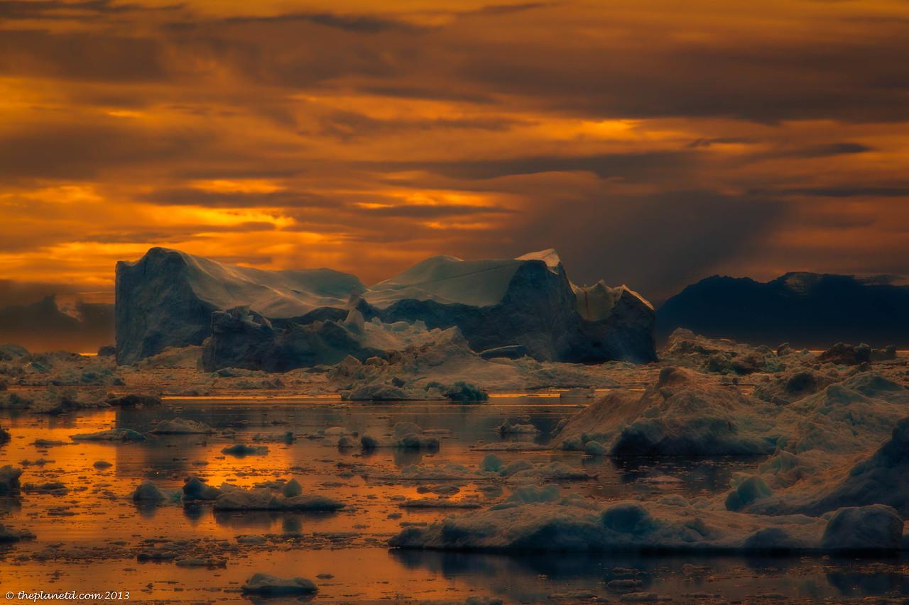 Greenland Sunrise