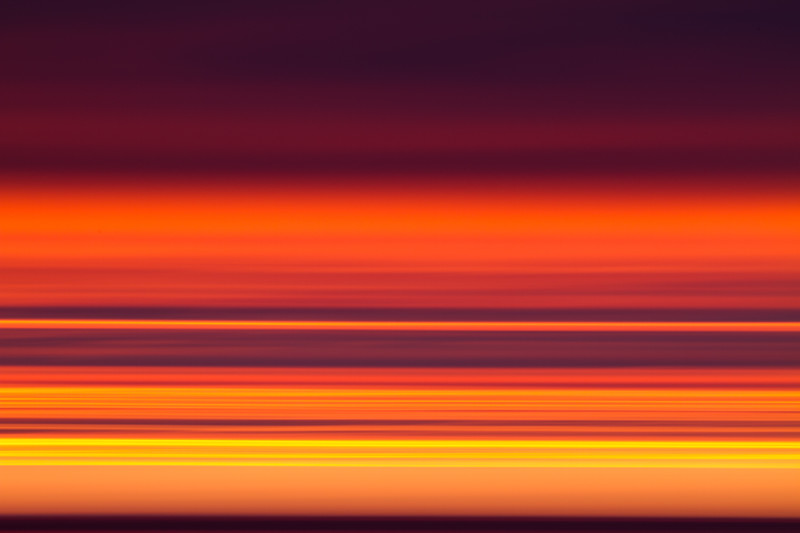 Sunset in the Arctic, Abstract