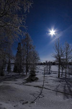 Galaxies In Snow