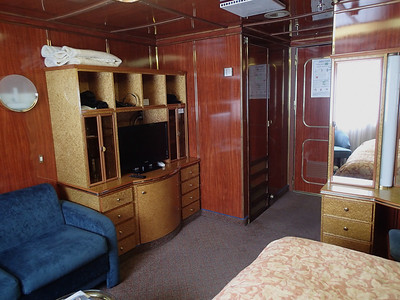 Our cabin on Sea Spirit