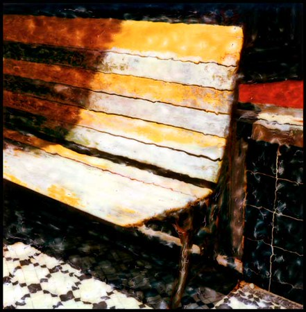 Yellow Bench