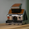 Just arrived, the Polaroid SX-70 Land Camera, produced in 1972 (mine is from '73, probably).
