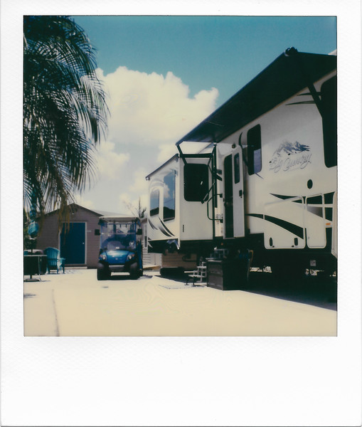 Our Trailer in the Sun