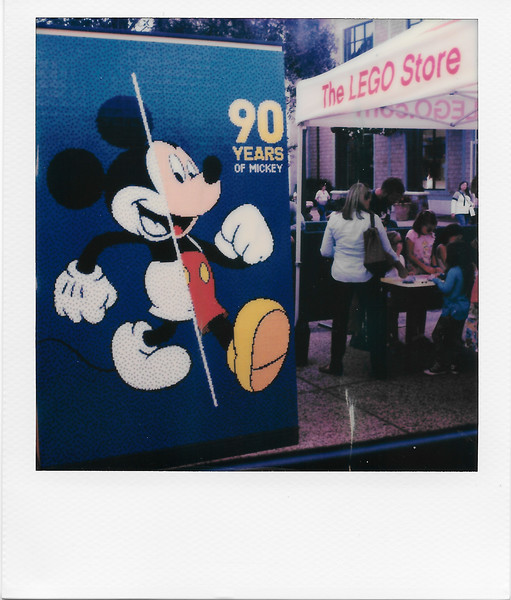 Mickey in Legos
