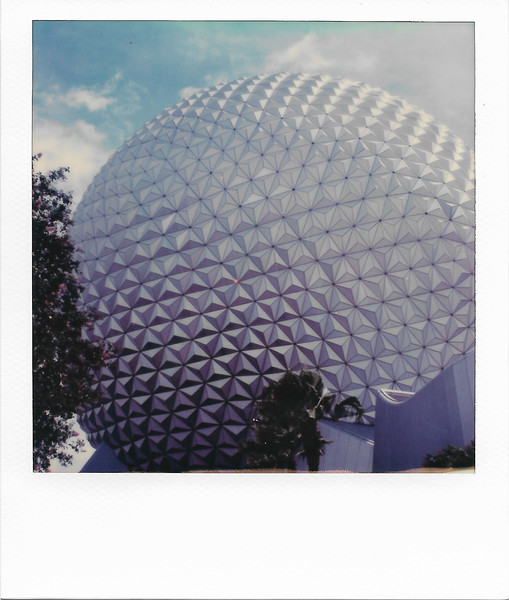 Spaceship Earth from the Right Rear
