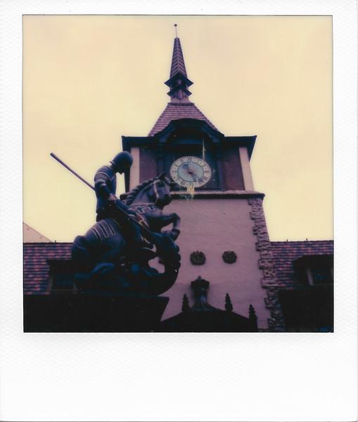 German Pavilion Clock Tower