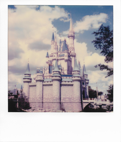 Cinderella's Castle from the Side