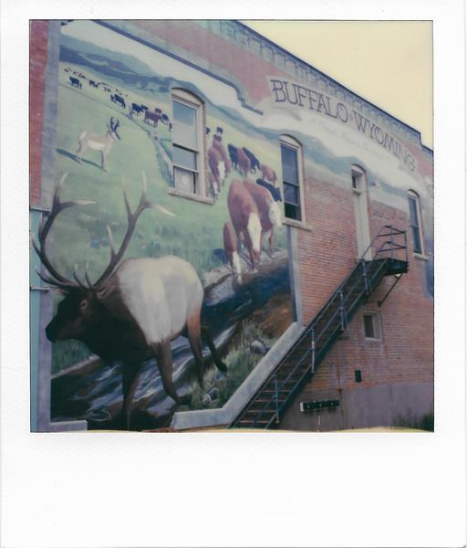 Cows and Elk Mural
