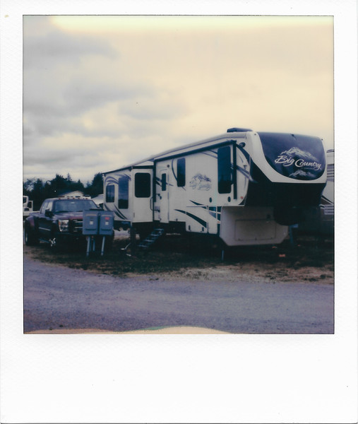 Campsite in Puyallup