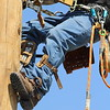 FreeState line crews participated in pole top rescue exercises in September, 2017.