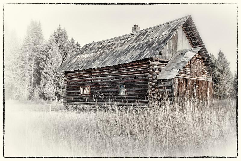 Log Cabin - Polebridge, Flathead Co., MT