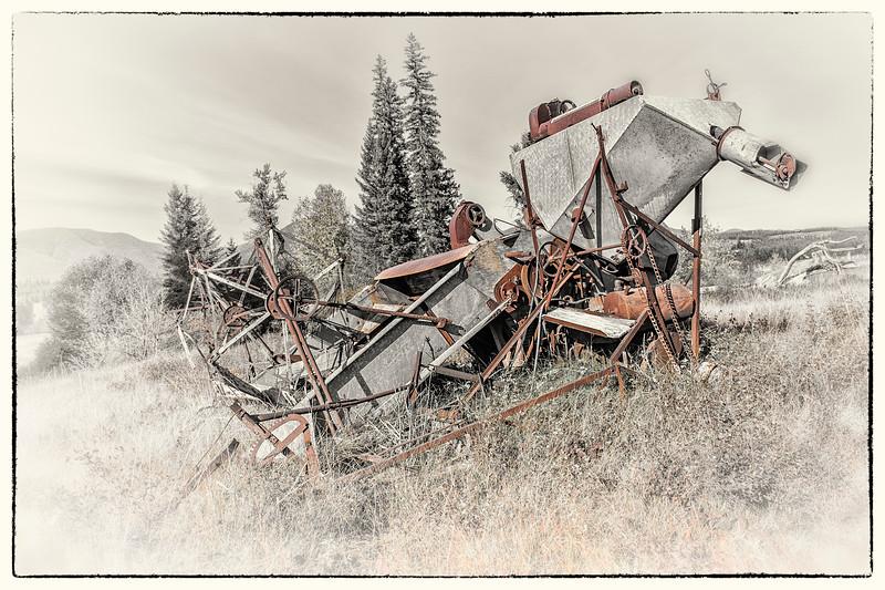 Combine  -  Polebridge, Flathead Co., MT
